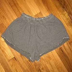 Brandy Melville soft striped shorts